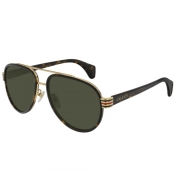 Gucci GG0447S 004 Sunglasses Brown
